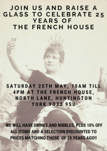The French House 25th Years