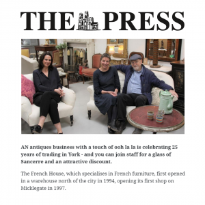 The French House in The Press